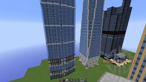 FAMOUS U.S. BUILDINGS para Minecraft