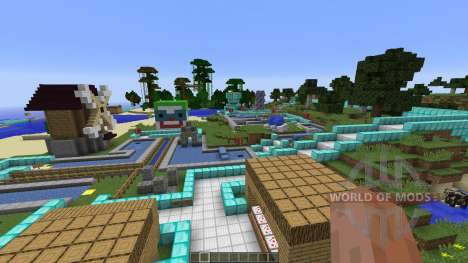 MINEGOLF Crazy Golf Putting Challenge para Minecraft