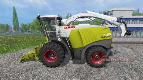 CLAAS Jaguar 980 [forest] para Farming Simulator 2015