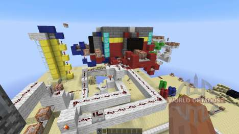 Team Death Match para Minecraft