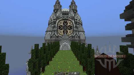The Build Sea Dragon Palace para Minecraft