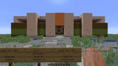 Juice Ultramodern House para Minecraft
