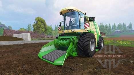 Krone Big X 1100 [crusher] para Farming Simulator 2015