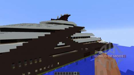 Independence Superyacht para Minecraft