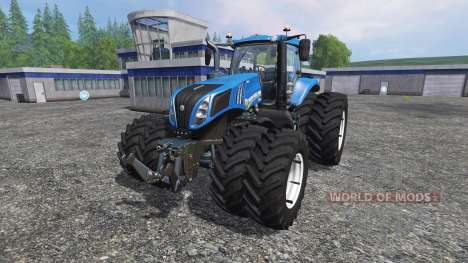 New Holland T8.435 v3.5 para Farming Simulator 2015
