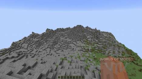 Mountains of Baize para Minecraft