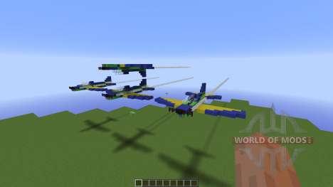 Brazilian Smoke Squadron T27 para Minecraft