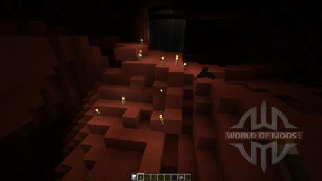 Mars Biome MASSIVE UNDERGROUND CAVES para Minecraft