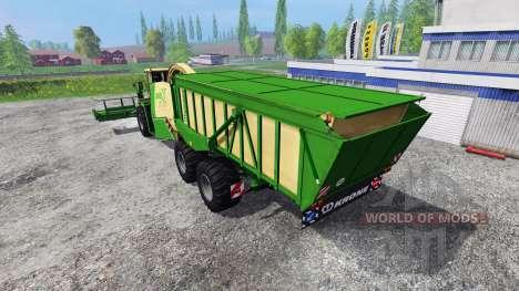 Krone Big X 650 Cargo v4.0 para Farming Simulator 2015