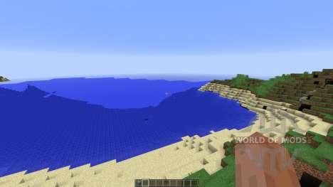 Super Realistic Mountainzzz para Minecraft