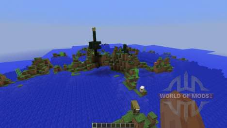 Outstanding Isles para Minecraft