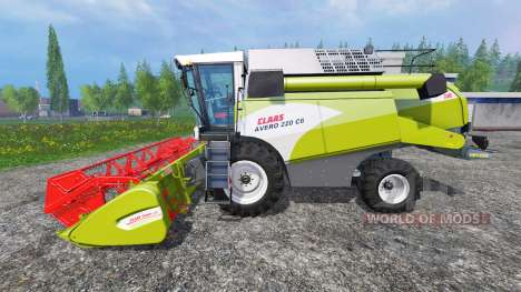 CLASS Avero 220 para Farming Simulator 2015