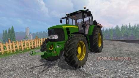 John Deere 6830 Premium FL v3.5 para Farming Simulator 2015