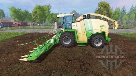 Krone Big X 1100 [tank 300000 liters] v1.2 para Farming Simulator 2015