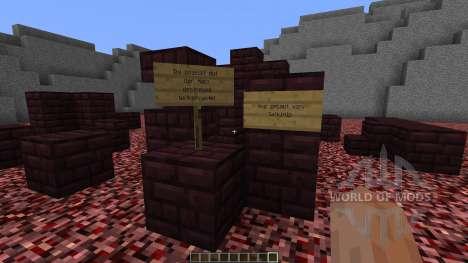 Netherfortress Bedwars Map para Minecraft
