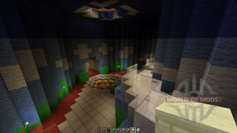 Mario 64 Full Map all 15 areas done para Minecraft