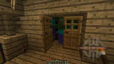 Outlandia desert island with buildings para Minecraft