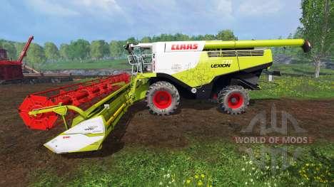 CLAAS Lexion 770 [washable] para Farming Simulator 2015
