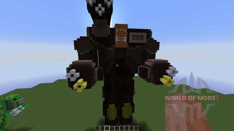 Ragnarok Mech para Minecraft