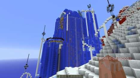 Frozen Elsas Ice Castle para Minecraft