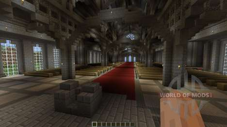 The Robarian Cathedral para Minecraft