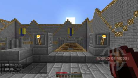 Lava Towers para Minecraft