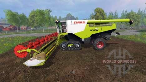 CLAAS Lexion 780TT [dirt] para Farming Simulator 2015