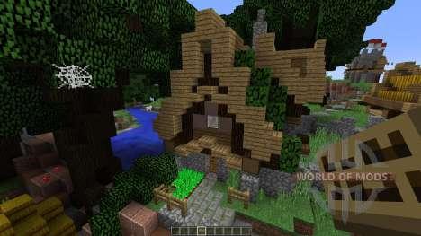 Medieval town para Minecraft