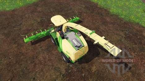 Krone Big X 1100 [beast] v12.0 para Farming Simulator 2015