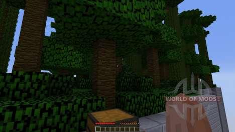 Sky Castle Chunk Battle para Minecraft