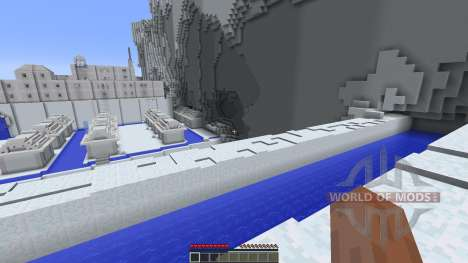 The Northern Water Tribe finished para Minecraft