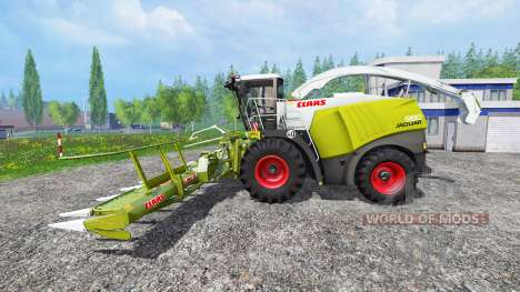 CLAAS Jaguar 980 v2.0 para Farming Simulator 2015