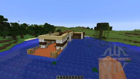 Fishing Dock para Minecraft
