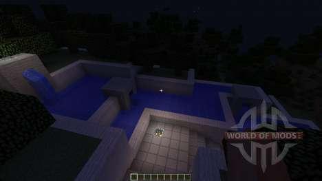 Futuristic Modern House: The Exige para Minecraft