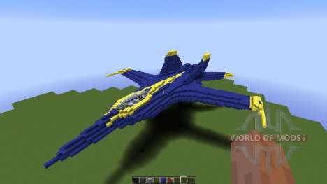 US Navy Blue Angle para Minecraft