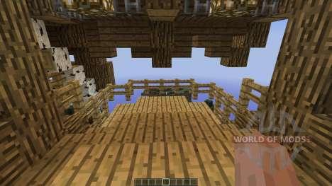 Circumflex Modern Water Mill House para Minecraft