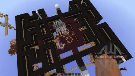 Pacman-Multiplayer new map para Minecraft