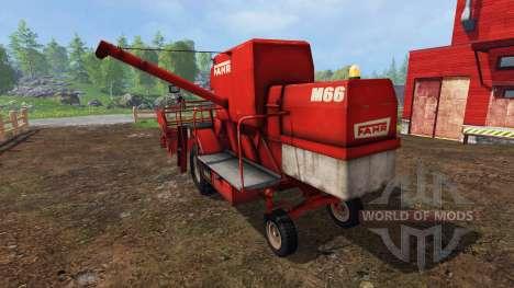 Fahr M66 v1.2 para Farming Simulator 2015