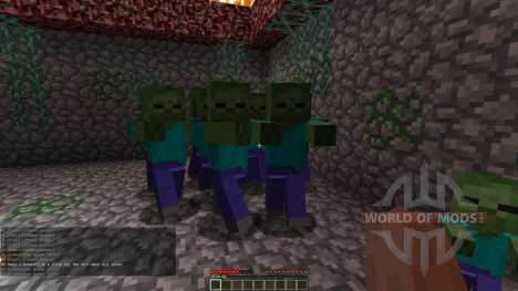 Zombie Defense para Minecraft