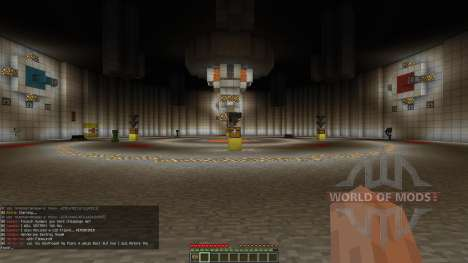 Minecraft Redstone Boss battle mech GlaDOS para Minecraft