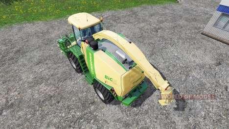 Krone Big X 1100 v2.0 para Farming Simulator 2015