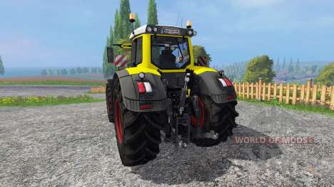 Fendt 936 Vario yellow bull para Farming Simulator 2015