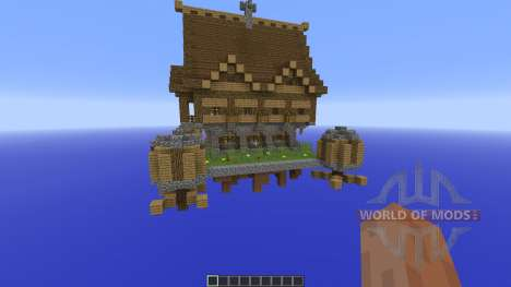 Steampunk house para Minecraft
