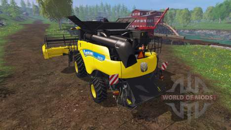 New Holland CR9.90 v1.1 [yellow edition] para Farming Simulator 2015