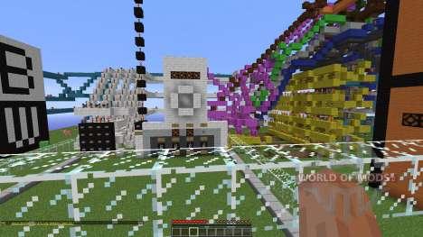 Quarto 2 player strategy game para Minecraft