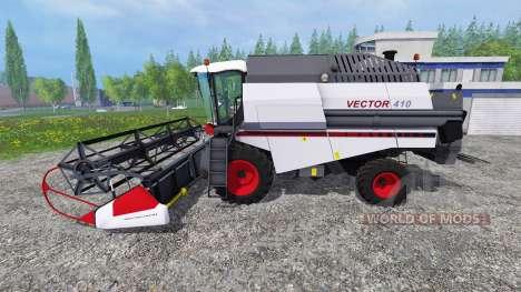 Vector 410 v1.2 para Farming Simulator 2015
