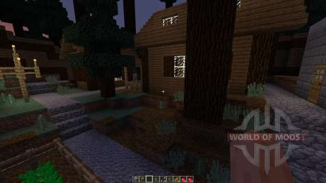 Forest hills village para Minecraft