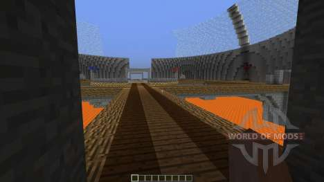4 Spheres CTF map para Minecraft