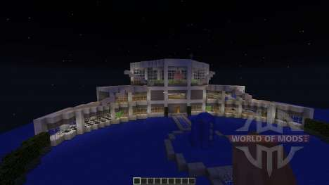 Obsidian island para Minecraft