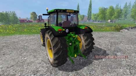 John Deere 6170R v2.2 para Farming Simulator 2015